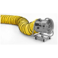 """16"""" Flexible PVC Duct for Contractor CON400 Ventilation Fan - Yellow"""