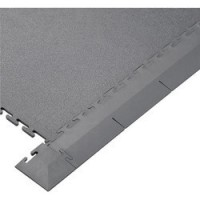 Grey PVC Corner Piece For Interlocking Floor Tiles (Single Unit)