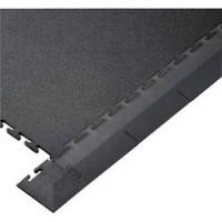 Black PVC Edge Piece For Interlocking Floor Tiles (Single Unit)