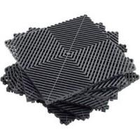 MFB1 Black PP Modular Black Tiles (Set Of 6)