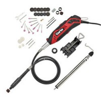 CRT130 - 130W Rotary Tool with 40 Piece Accessory Kit