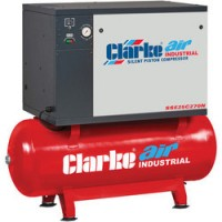 Sse25c270n 5.5hp 270ltr Low Noise Reciprocating Air Compressor