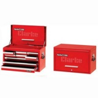 """CBB209DF 26"""" 9 Drawer Tool Chest With Front Cover - Red"""