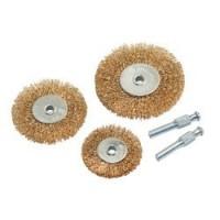 CHT562 - 3pce Wire Brush Set