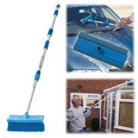 CHT631 Telescopic Wash Brush And Squeegee