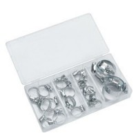 CHT672 Assorted Hose Clip Set