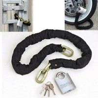 CHT728 Heavy Duty Motorcycle Padlock And Chain