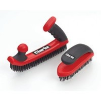 CHT767 Easy Grip And D Handle Wire Brush Set
