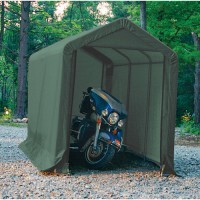CIS612 Instant Motorcycle Shelter/Shed 6x12ft