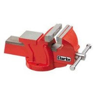 CV6RB 150mm Workshop Vice (Fixed Base, Red)