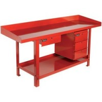 Cwb2000d 2m Engineers' Steel Workbench