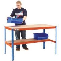 CWB300LS Heavy Duty Workbench With Shelf