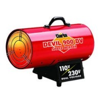 DEVIL900DV Dual Voltage 110/230V Gas Heater