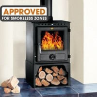 Eton II Large 10kW Steel Wood Burning Stove
