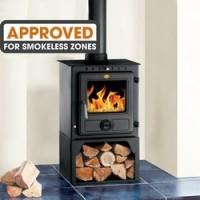 Eton II Steel Wood Burning Stove - DEFRA Approved