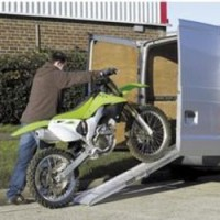 MAR200B Aluminium Folding Motorcycle Ramp