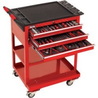 PRO395 182 Piece Tool Kit With 3 Drawer Service Cart