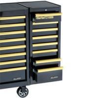 SL41BGB 8 Drawer Side Locker (Black & Gold)
